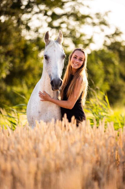 Portretfoto paard